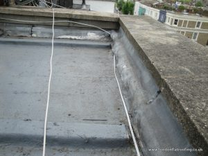 Badly Laid GRP Flat Roof